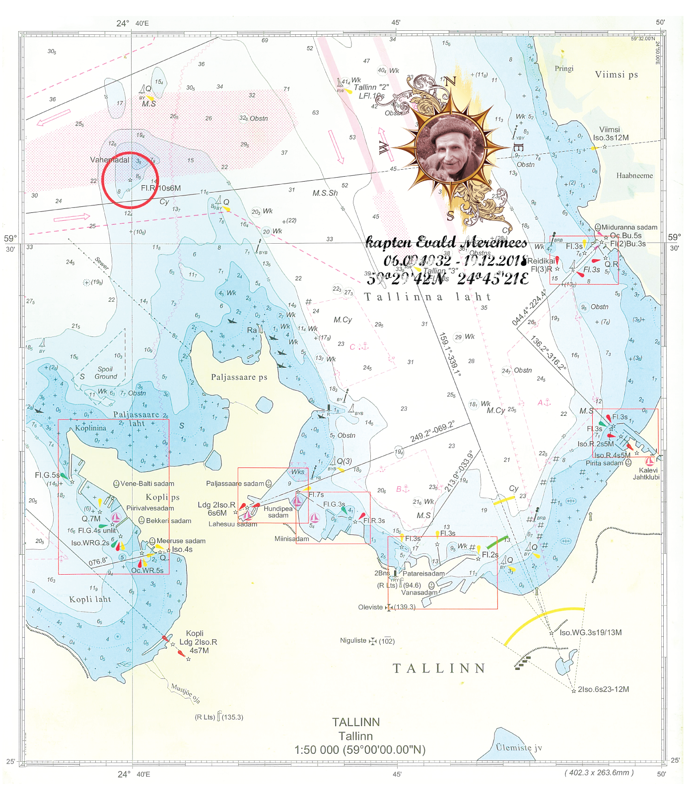 merematuse kaart