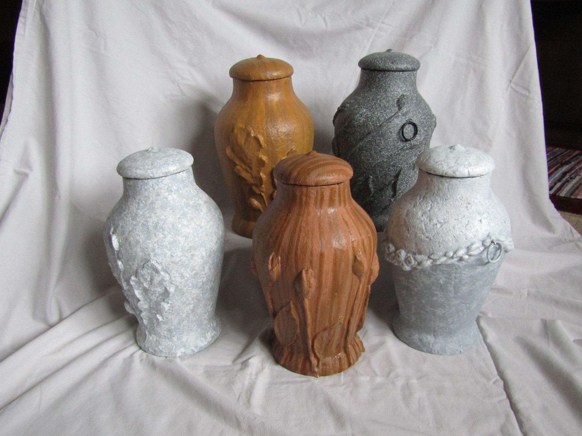 biolagunevad urnid